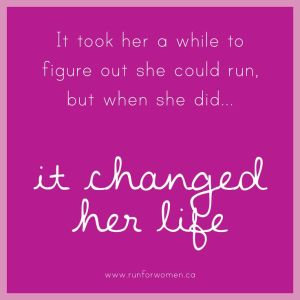 running changed her life