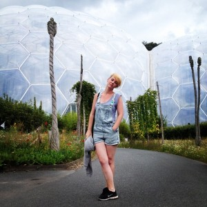 "I scream for ice cream: refusing to raise a smile after being told I was ""looking and acting like the biggest baby at the Eden Project"","