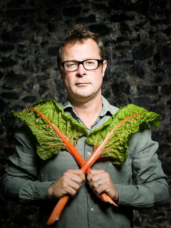Hugh: a fellow warrior in the war against beige food (image from www.guardian.co.uk)