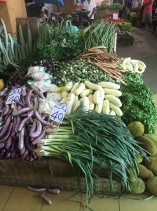 Local market stall