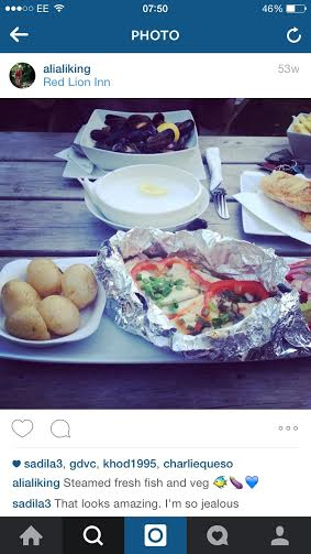 Fishy feast